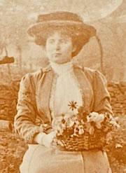 Esme Preston, c.1890.