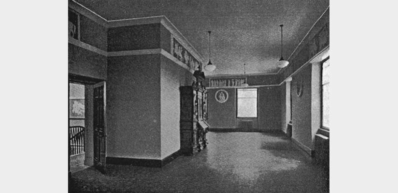 Errwood Hall plasterwork