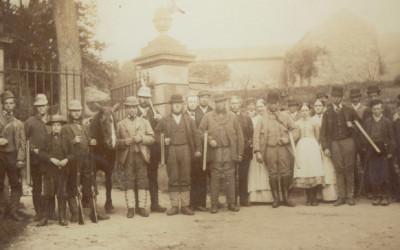 Errwood Hall gamekeeper