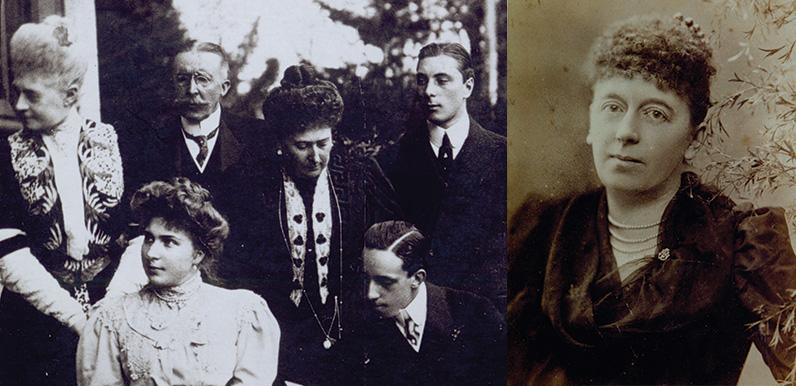 The Grimshawe family