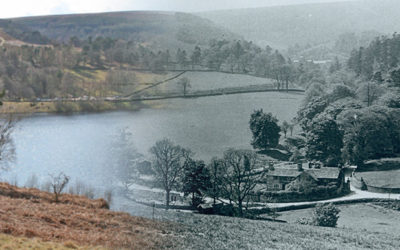 Goyt's Bridge then and now