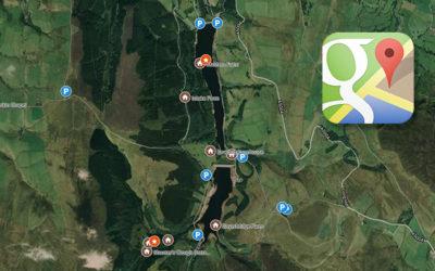 Goyt Valley Google map