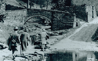 Goyt's Bridge before the flood