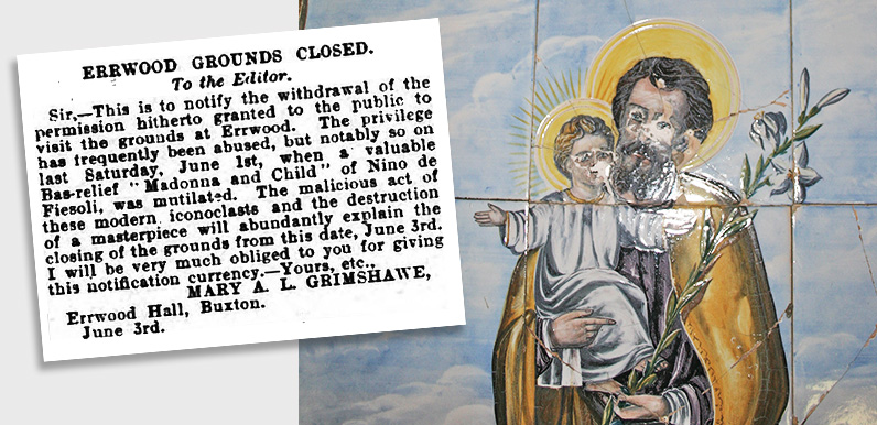 Closure of Errwood grounds