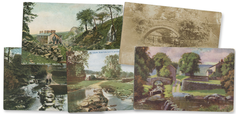 Goyt Valley postcards