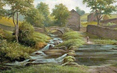 Goyt's Bridge painting
