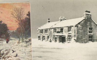 A winter walk in 1884