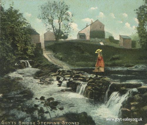 Goyt's Bridge. c.1905
