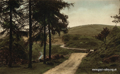 The road to Derbyshire Bridge. c.1910