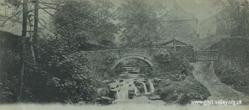 Goyt's Bridge. c.1900