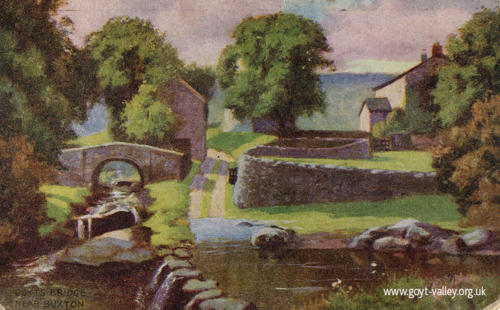 Goyt's Bridge. c.1920