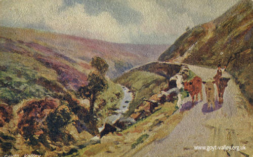 The road to Derbyshire Bridge. c.1905