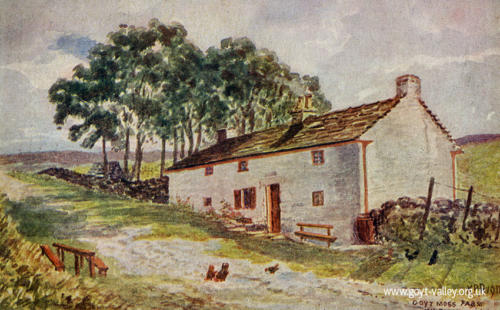 Goyt's Moss Farm in summer. 1911