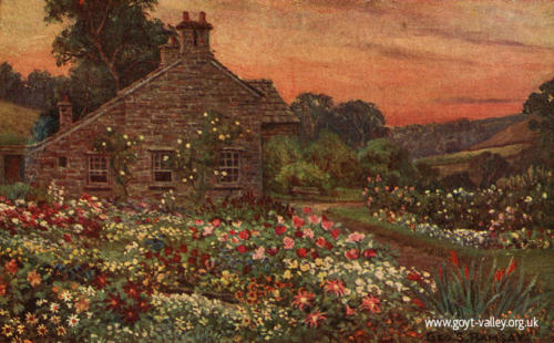 Errwood Cottage. c.1915