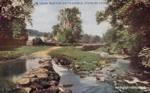 The stepping stones. c.1920