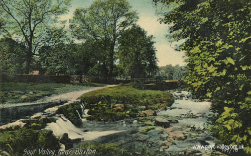 The stepping stones. c.1915