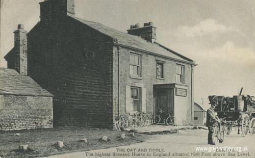 The Cat & Fiddle Inn. c.1905