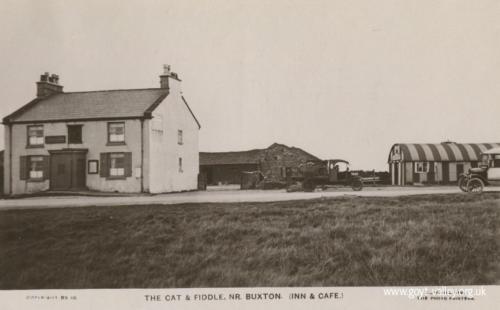 The Cat & Fiddle Inn. c.1920