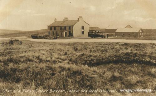 The Cat & Fiddle Inn. c.1940