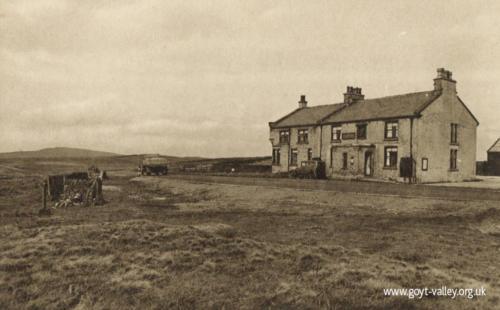 The Cat & Fiddle Inn. c.1945