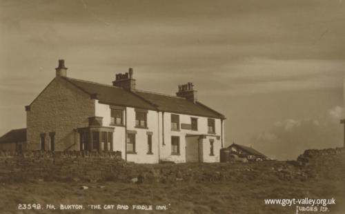 The Cat & Fiddle Inn. c.1955