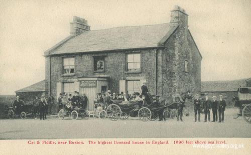 The Cat & Fiddle Inn. c.1910