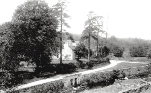 Errwood Cottage. c.1920.