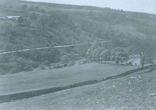 Valley view. c.1920.