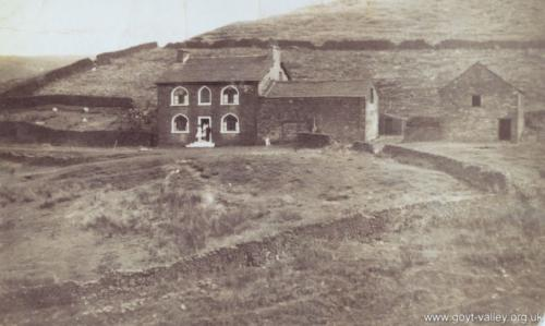 High Clough Farm. c.1920.