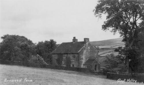 Errwood Farm. c.1920.