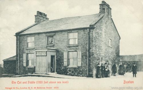 Cat & Fiddle Inn. c.1900.