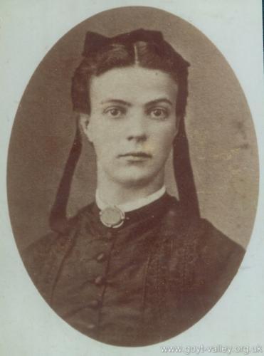 Hannah Butler. c.1900.