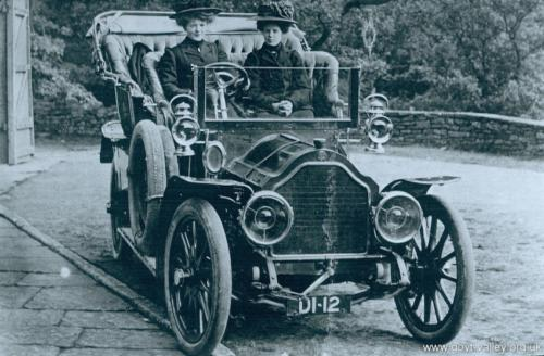 Errwood Hall servant girls. c.1915.