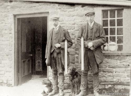 The Braddock brothers. c.1910.