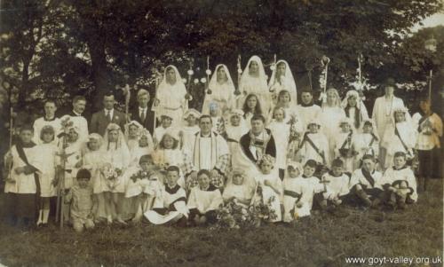Holy Communion. c.1920.
