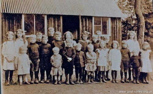Errwood schoolchildren. c.1920.