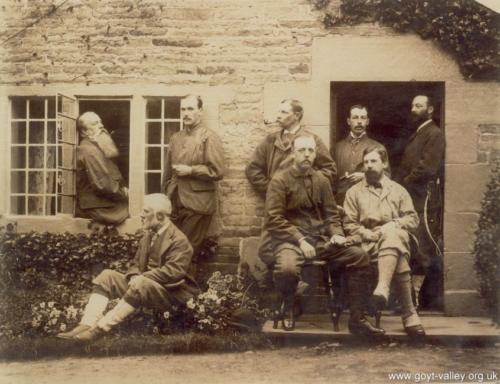 Grimshawe hunting party 1881