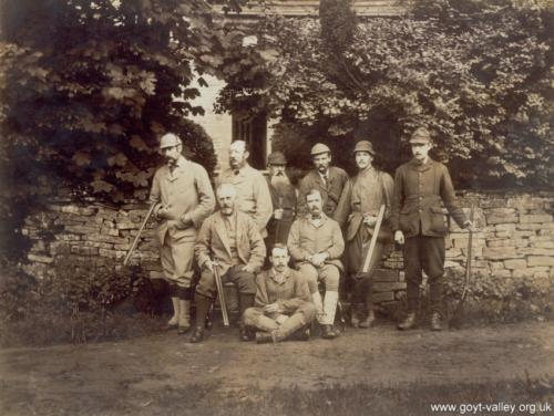 Grimshawe hunting party 1887