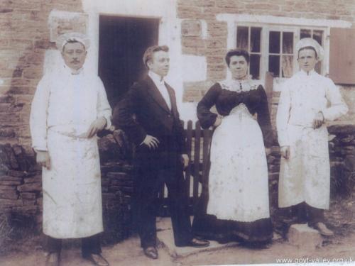 Goytsbridge Farm tea. c.1910.