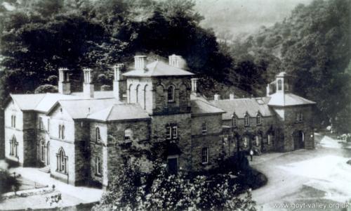 Errwood Hall c.1925.