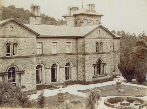 Errwood Hall c.1920.