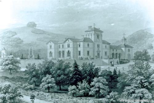 Errwood Hall c.1830