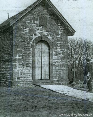 Errwood Hall mausoleum