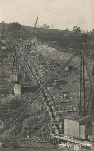 Fernilee Reservoir construction c.1933