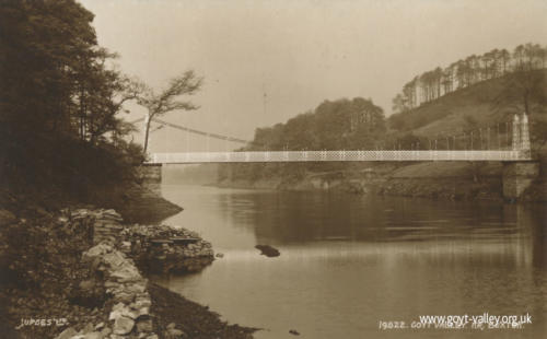Suspension Bridge c. 1950